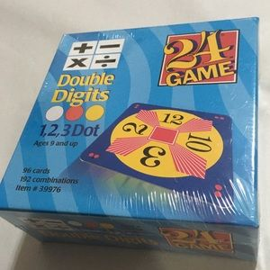 🆕 Challenge 24 Math Card Game double Digits! 💥